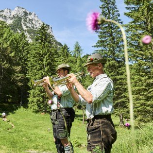 In the Alpenwelt Karwendel you can experience nature and music in harmony, © Alpenwelt Karwendel | bayern.by Marco Felgenhauer | woidlife photography