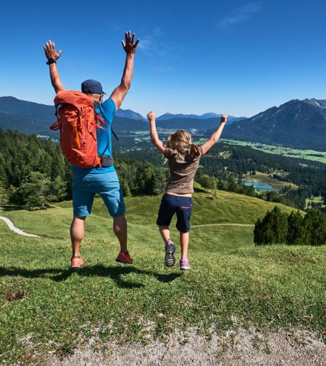 Experience nature with the whole family around Mittenwald, Krün and Wallgau, © Alpenwelt Karwendel | Anton Brey
