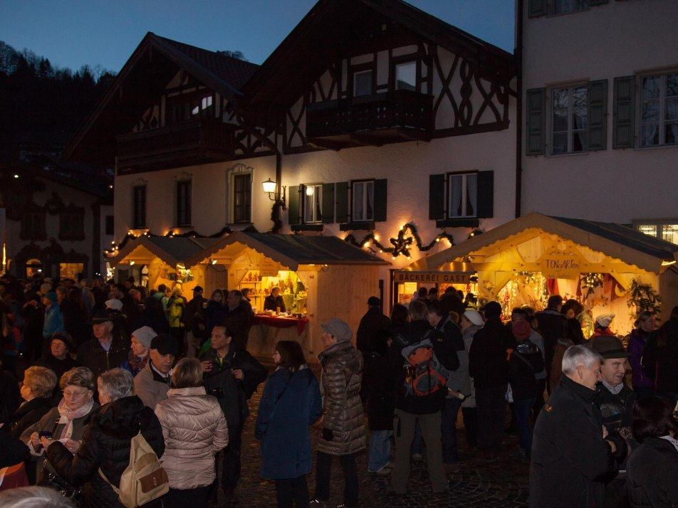 Christkindlmarkt in  Mittenwald