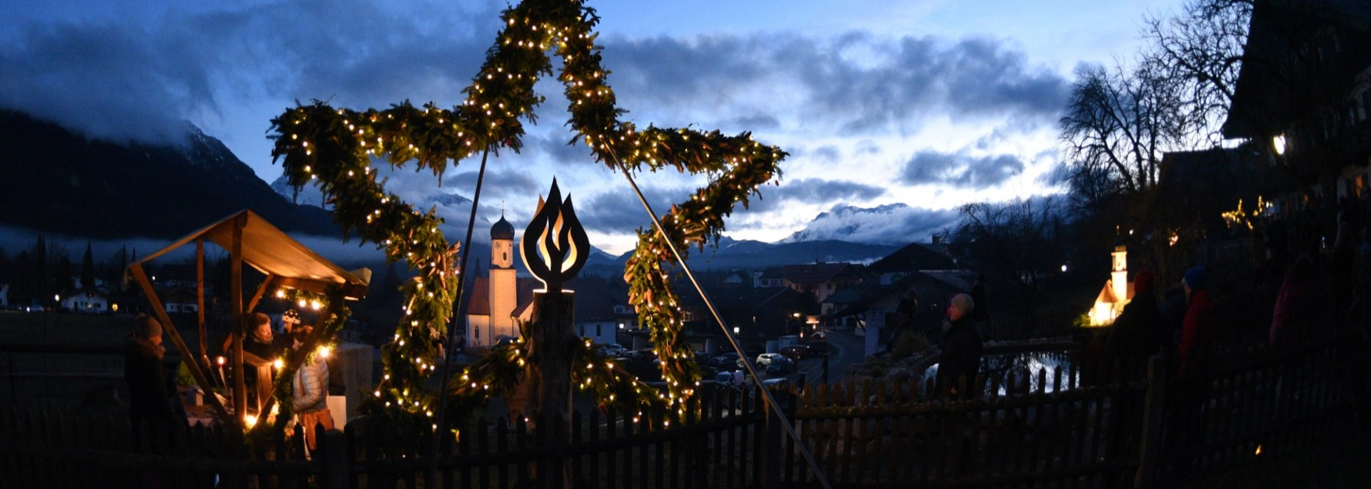 Adventsmarkt der Sinne in Wallgau, © Alpenwelt Karwendel | Angelika Warmuth
