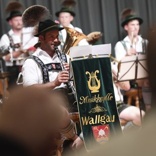 Concert of the Muskkapelle Wallgau - from march to big band, © Alpenwelt Karwendel | Angelika Warmuth