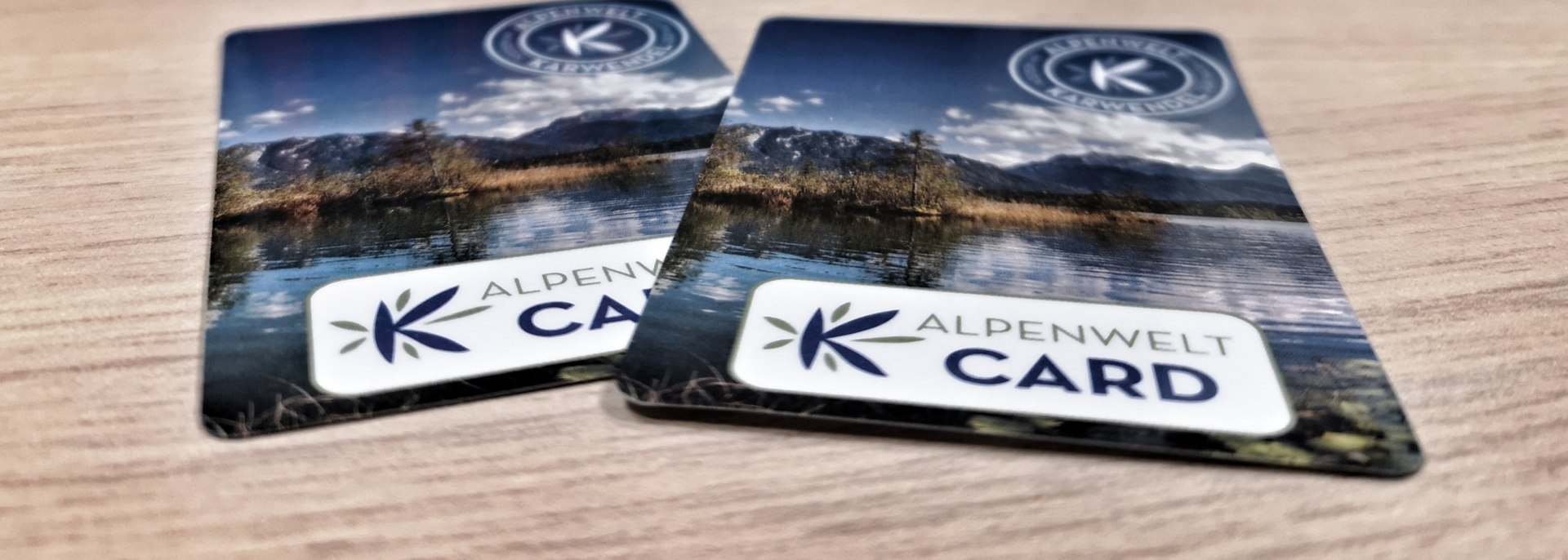 With the AlpenweltCard guest card you get many discounts and free services for your holiday in Bavaria. AlpenweltCard - , © Andreas Karner