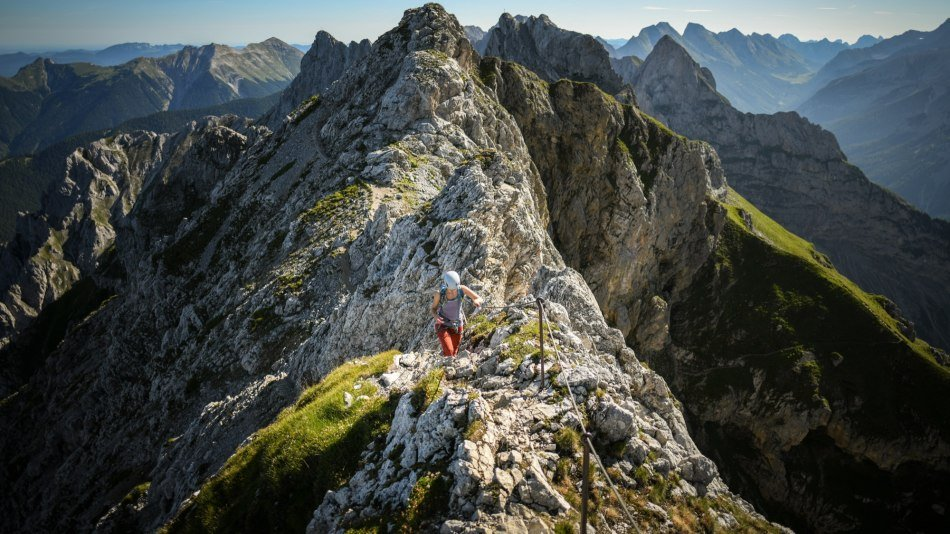 Mittenwalder Via Ferrata in the Karwendel, © Alpenwelt Karwendel | Philipp Gülland