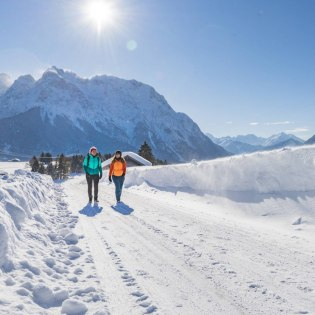 Pure snow - Winter hike in the Alpenwelt Karwendel, © Oberbayern.de | Foto: Peter v. Felbert