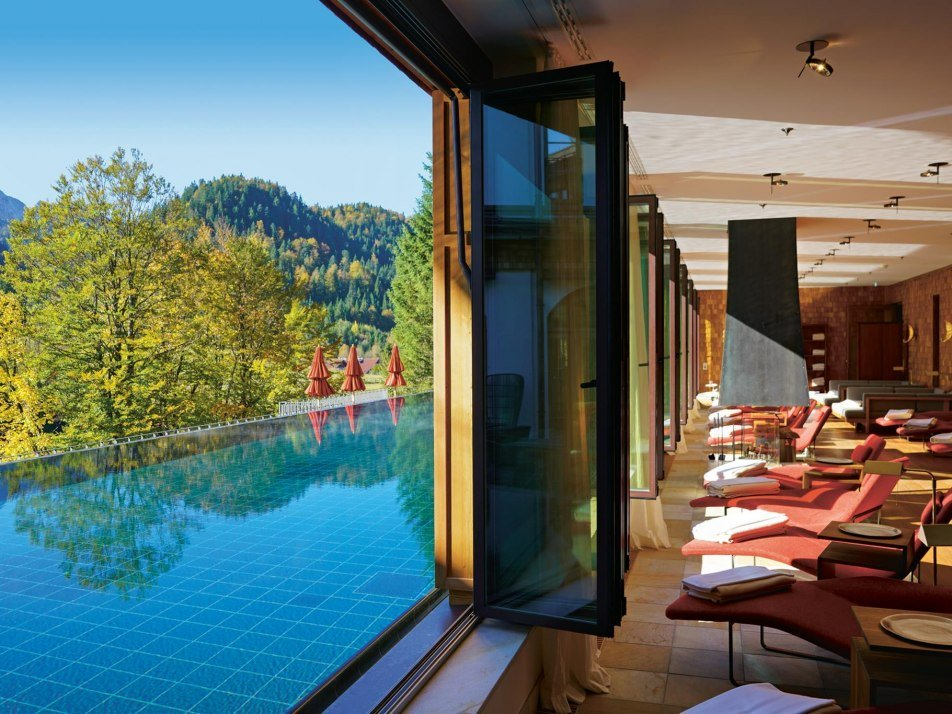 Schloss Elmau Family Spa